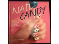 Nail Candy nail design book, very good condition. Can post