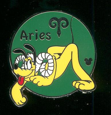 2012 Hidden Mickey Zodiac Collection Aries Pluto Disney Pin 88690