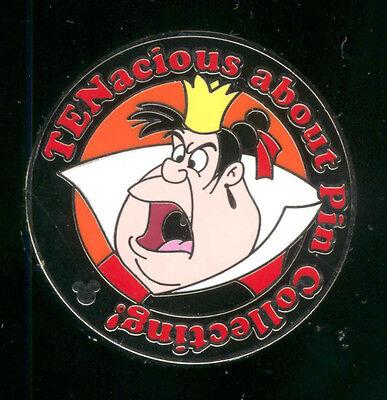 DLR 2010 Hidden Mickey Alice In Wonderland TEN Queen of Hearts Disney Pin