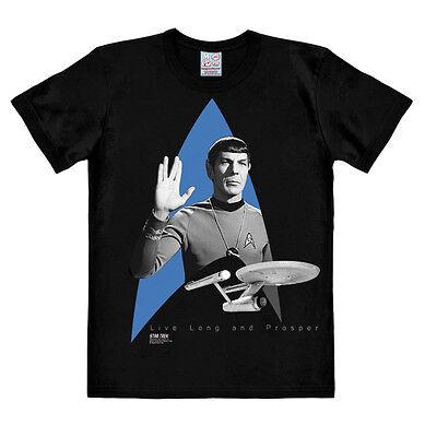 Star Trek: Spock - Raumschiff USS Enterprise - Logo - Film - T-Shirt - Logoshirt ()