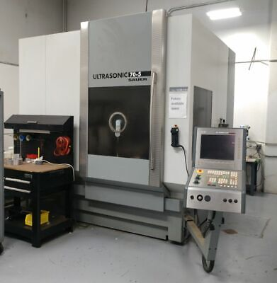 Dmg Sauer Ultrasonic 70-5 5-axis Ultrasonic Machining Center- New 2006