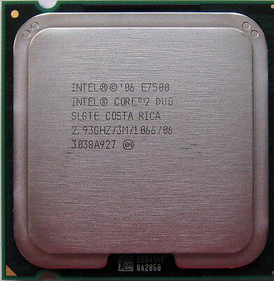 Intel CPU Core 2 Duo E7500 2.93GHz/3M/FSB1066 LGA 775