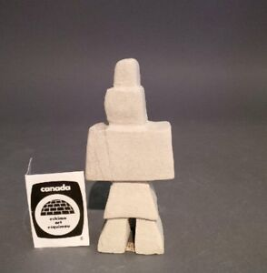 SALE !!! INUIT ART SCULPTURES HAND CARVED : INUKSHUK