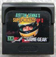 Ayrton Senna Super Monaco Gp Ii Sega Game Gear Cartuccia Gioco -  - ebay.it