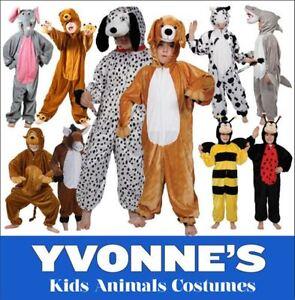 Childrens-Zoo-Jungle-Farm-Animal-Fancy-Dress-Costume-Boys-Girls
