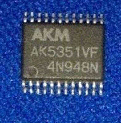 Akm Ak5351vf Tssop Enhanced Dual Bit 20bit Adc Usa Ship