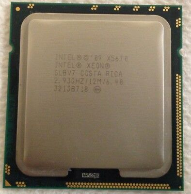 SLBV7 Intel Xeon X5670 2.93GHz Six Middle (AT80614005130AA) Processor