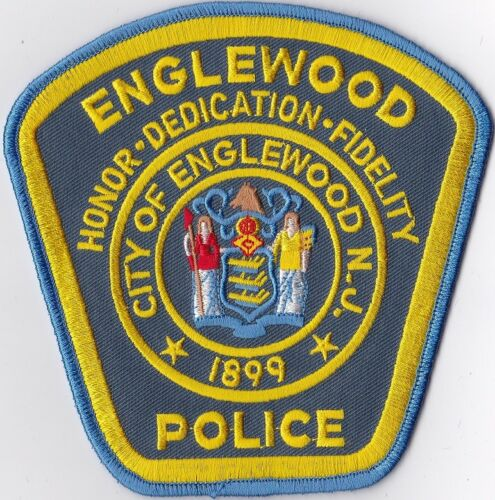 Englewood Police New Jersey Police Patch patch