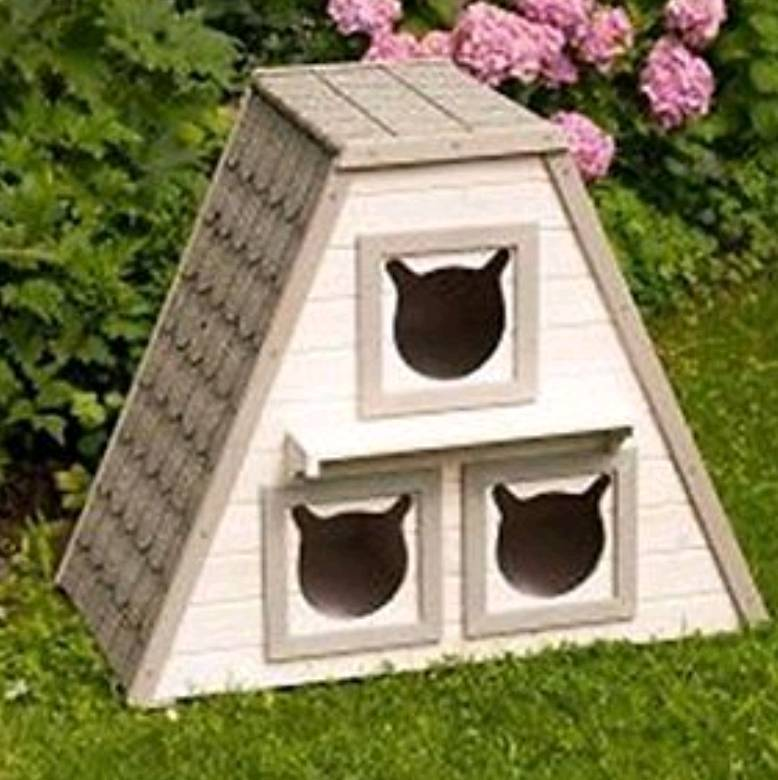 New Waterproof Outdoor Cat Playhouse