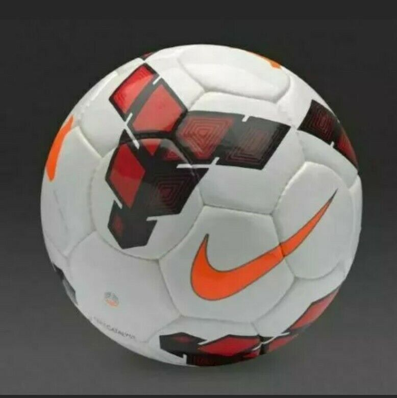 $80 Nike Catalyst Team Official Match Soccer Ball FIFA Size 5 SC2365-167 White
