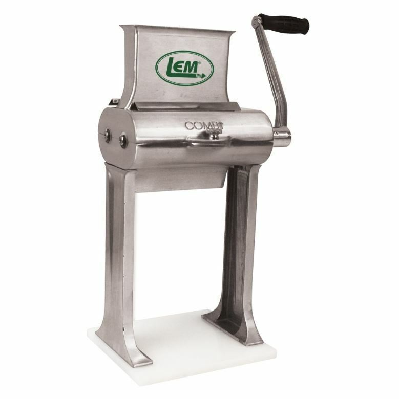 New Lem 2 In 1 Manual Aluminum Jerky Slicer/Tenderizer