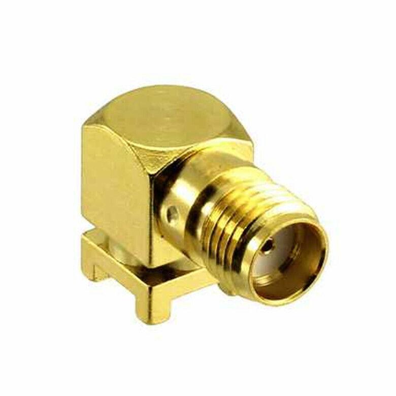 1 Pcs Connector ONSMA002-SMD-G-T〖 CONN SMA REC R/A T&R〗