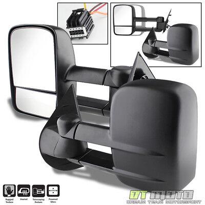 Left+Right 2007-2014 Silverado Sierra Telescoping Tow Power Heated Side Mirrors