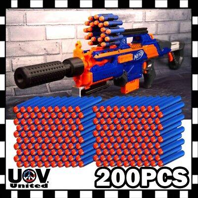 True Blue 200PCS Refill Bullet Darts for Nerf toy Gun N-strike Elite Series