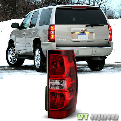 Fits 2007-2014 Chevy Suburban Tahoe Tail lights Taillamps Passenger Right Side