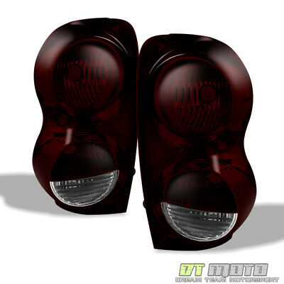Red Smoke 2004-2009 Dodge Durango Tail Lights Brake Lamps Replacement -