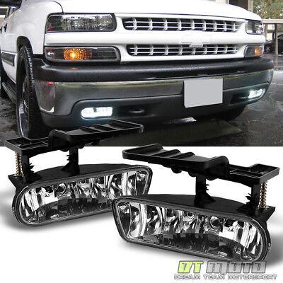2002 Chevy Suburban - 1999-2002 Chevy Silverado 00-06 Suburban Tahoe Bumper Driving Lamps Fog Lights