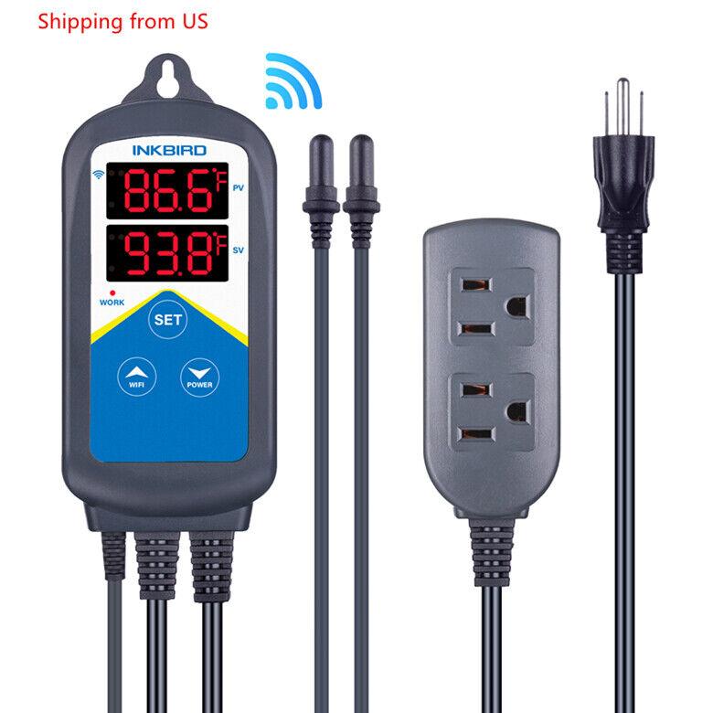 Inkbird Prewire WIFI Temperature Controller Thermostat ITC-3