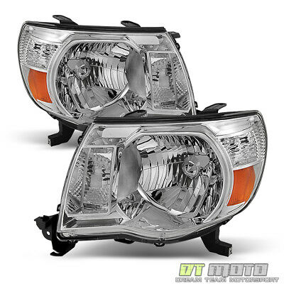 For 2005-2011 Toyota Tacoma Headlights Headlamps 05-11 Left+Right Lights Lamps