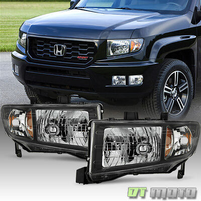 For 2006-2014 Honda Ridgeline Headlights Headlamps Replacement 06-14 Left+Right