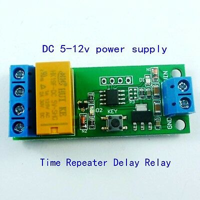 DC AC Motor Reverse Polarity Cyclic Timer Switch Time Repeater 5000S 2A 5V 12V