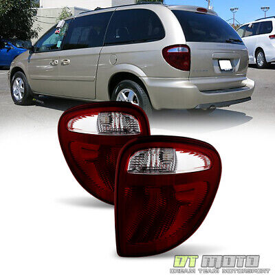 2004-2007 Dodge Grand Caravan Town & Country Tail Lights Brake Lamps Left+Right