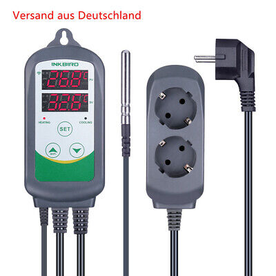 Inkbird ITC-308 EU 230V Temperaturregler Heizen Kühlen Thermostat Verdrahtet 10A