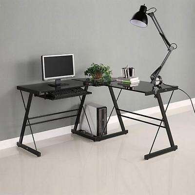 Black Flexible Swing Arm Clamp Mount Lamp Home Office Studio Table Desk Light