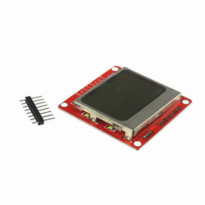 1pc 8448 Lcd Display Module White Backlight Lcd With Pcb For Nokia 5110 Arduino