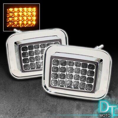 2003-2009 USA Make Hummer H2 LED Corner Lights Parking Lamps Pair Set Left+Right Lamp Park Lights Set