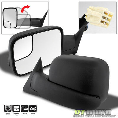 LeftRight 1998 2001 Dodge RAM 1500 2500 3500 FlipUp PowerHeated Tow Mirrors