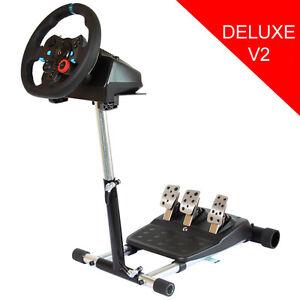 Wheel Stand Pro - Stand for Logitech G29/G920 & G25/G27 Racing Wheel - DELUXE V2
