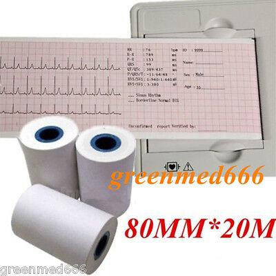 Thermal Printer Paper For Ecg Ekg Machine Electrocardiograph 80mm20m Ekg-903b