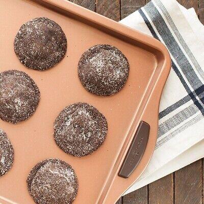 "Nordic Ware 48243 Freshly Baked Cookie Sheet, 11"" x 17"", Cop"