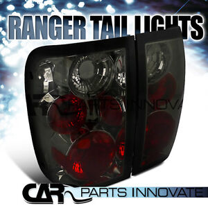 FORD 98-05 RANGER TAIL LIGHTS BRAKE STOP REAR LAMP ALTEZZA SMOKE