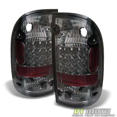 For Smoked 1995-2000 Toyota Tacoma Pickup Lumileds LED Tail Lights Brake 95-00