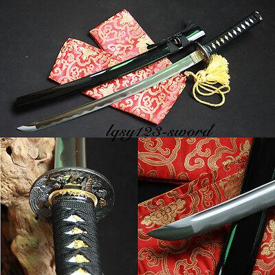 (Hand made 1060 high carbon steel japane se samurai katana real sharp )