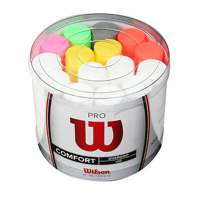 Wilson PRO Overgrip Bucket 60 Pack Assorted WRZ4018 With Free Tracking