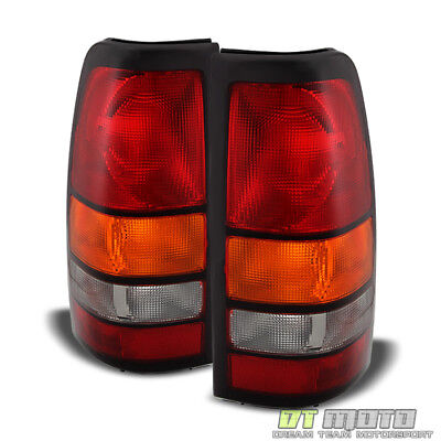 2004-2006 GMC Sierra 1500 2500 3500 Truck Tail Lights Lamps 04 05 06 Left+Right