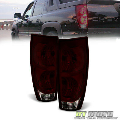 2005 Tail Light Tint (Dark Tint 2002-2006 Chevy Avalanche 1500 2500 Tail Lights Replacement)
