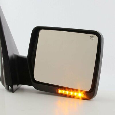 Passenger Right Side View Mirror For 2004-14 Ford F150 Truck Power Heated