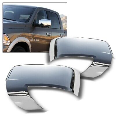 For 2009-2012 Dodge Ram 1500/2500/3500 Ram Chrome Mirror Covers With Turn