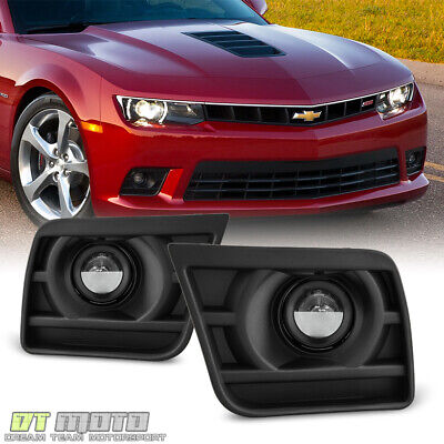 2014-2015 Chevy Camaro SS Z28 V8 Bumper Fog Lights Driving Lamps+Switch+Harness