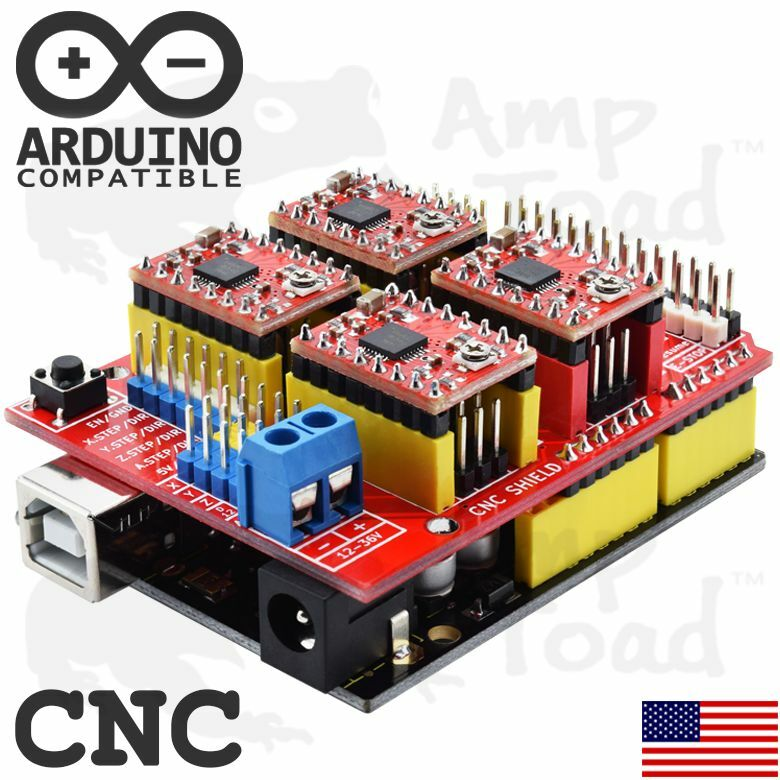 Arduino CNC Kit with UNO R3  & 4 x A4988 Drivers (GRBL Compatible) Router TTL