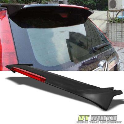 Matt Black ABS Spoiler For 2007-2011 Honda CRV CR-V Rear Trunk w/LED Brake Light