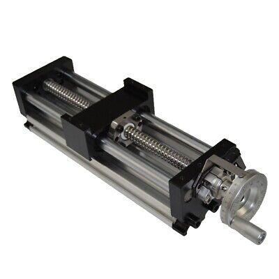 100mm Manual Sliding Table Sfu1605 Ballscrew Linear Stage Actuator