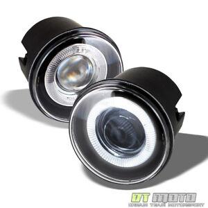 2005-2010 Chrysler 300C 08-09 Dodge Caliber LED Halo Projector Fog Lights Lamps