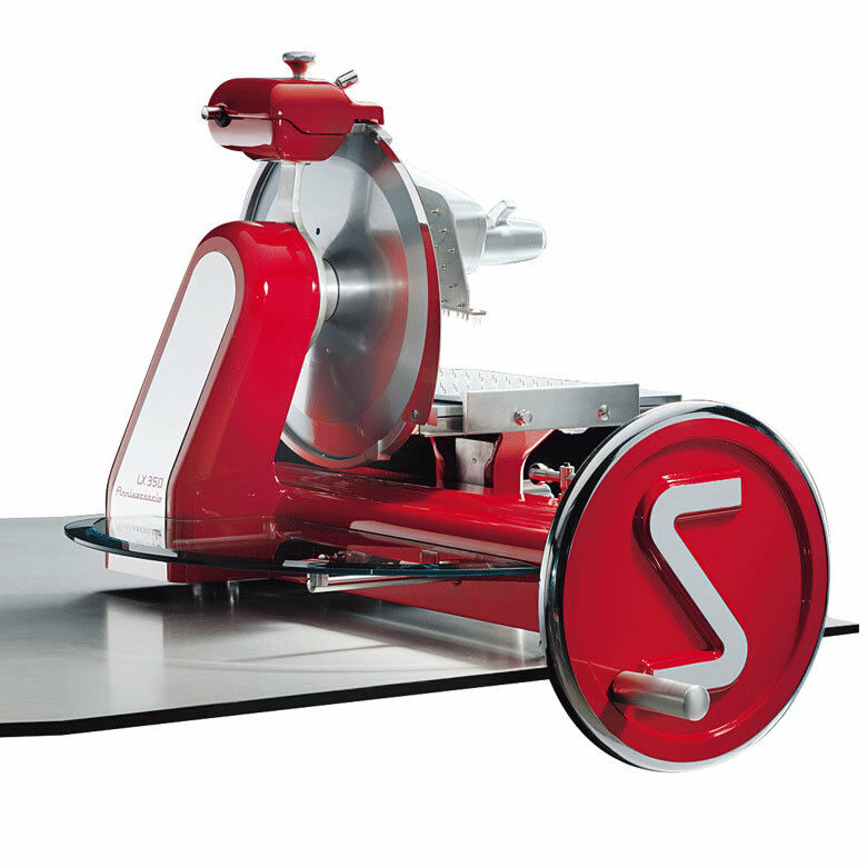 "Eurodib Anniversario 350 Sirman 14"" Manual Flywheel Slicer W/ Removable Carriage"
