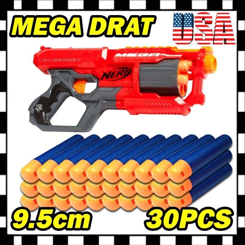 Blue Refill Foam Bullet Darts for Nerf N-Strike Elite Mega C