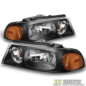 1998 1999 2000 2001 2002 Lincoln Navigator Headlights Headlamps 98-02 Left+Right